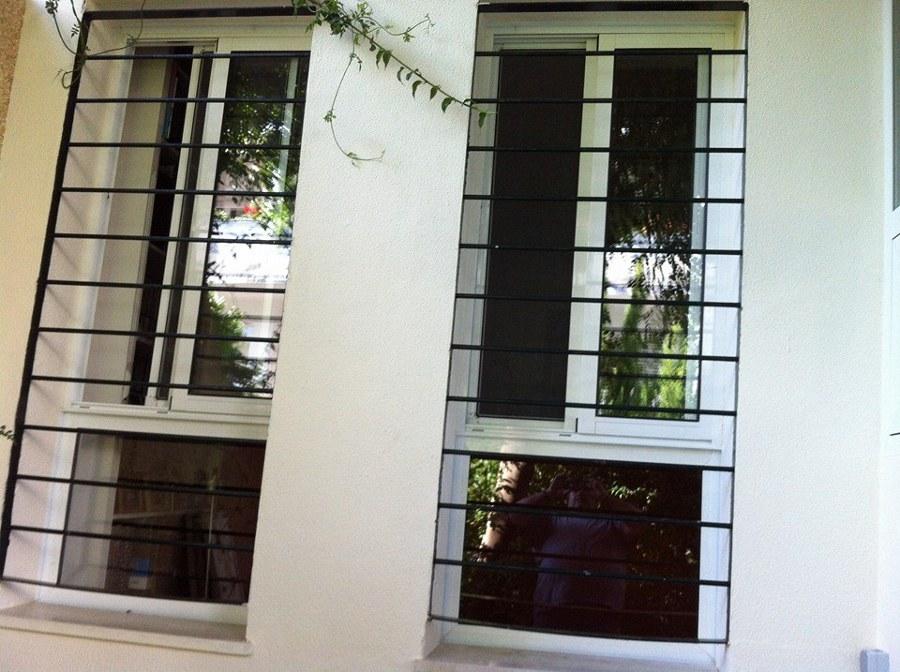 detalle de ventana y rejas