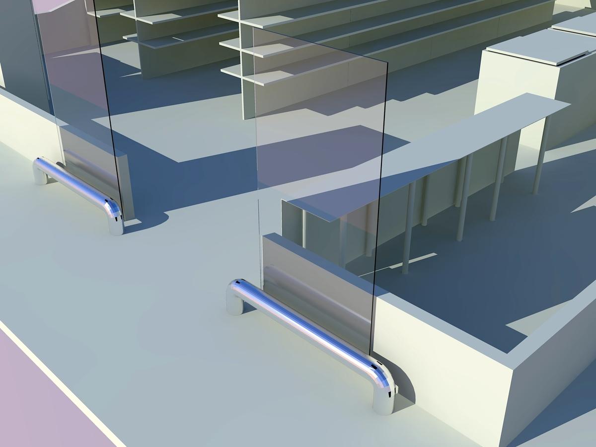 Detalle renderizado acceso a tienda.