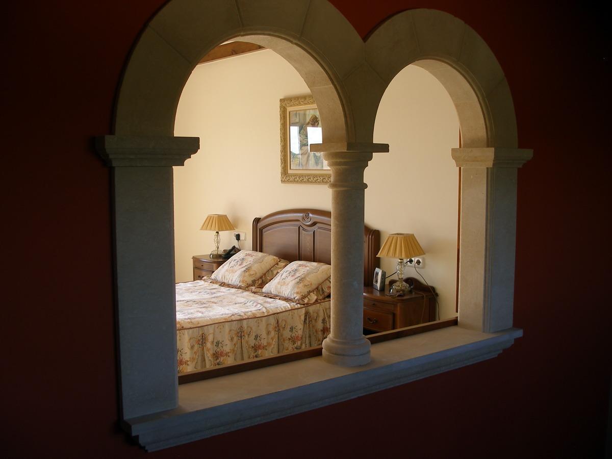 detalle ventana interior entrada