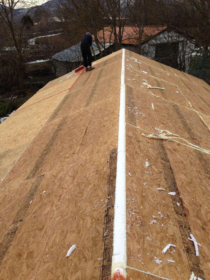 Día 4 colocación de paneles en tejado