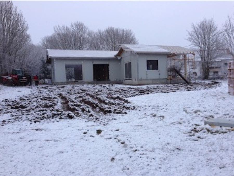 Día 6, la casa va tomando forma