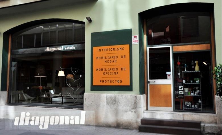 Diagonal Diseño, tienda