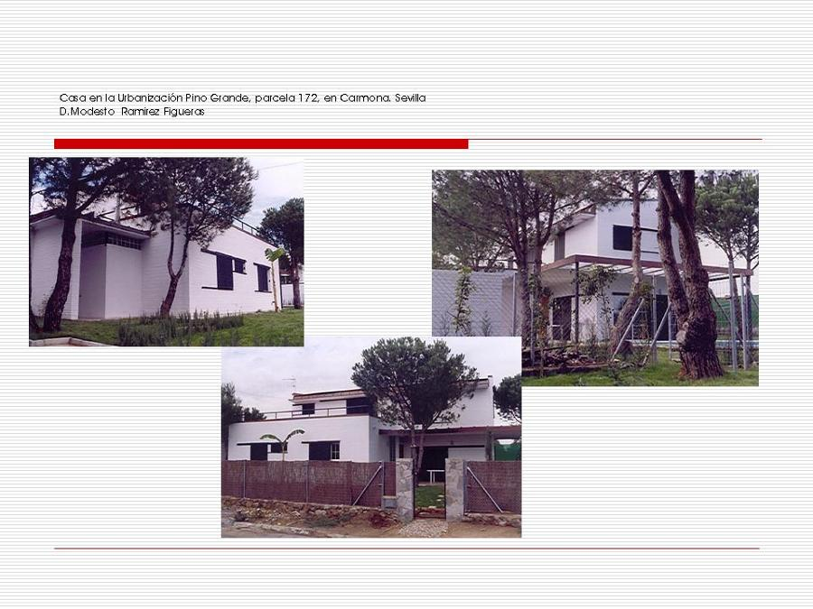 Foto casa en la urbanizaci n pino grande parcela 172 en for Alquiler de casa en pino grande sevilla