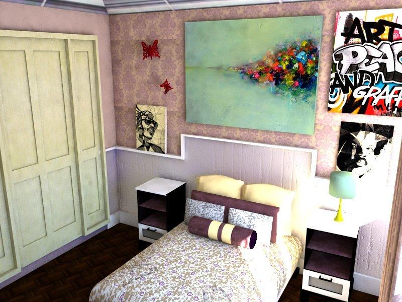 Foto dise o 3d de habitacion infantil de decorando tu - Diseno habitacion infantil ...