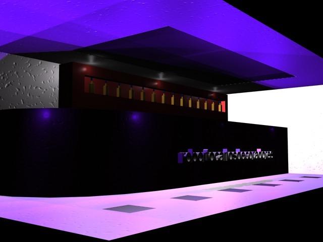Diseño Bar de Copas.