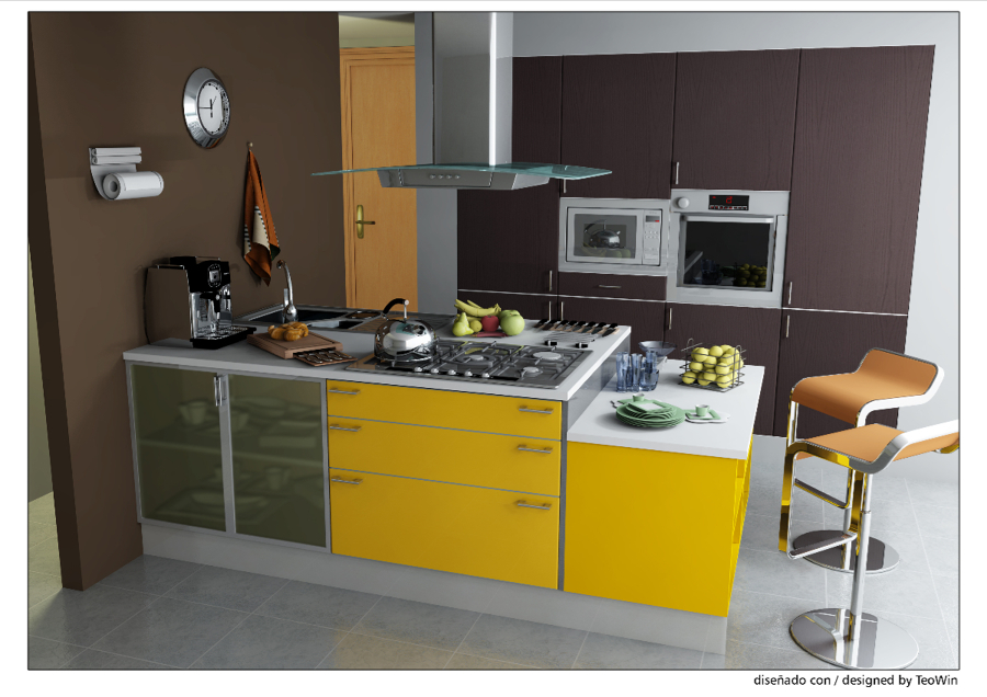 Foto dise o cocina de rovifort multiservicios 262030 for App diseno cocinas