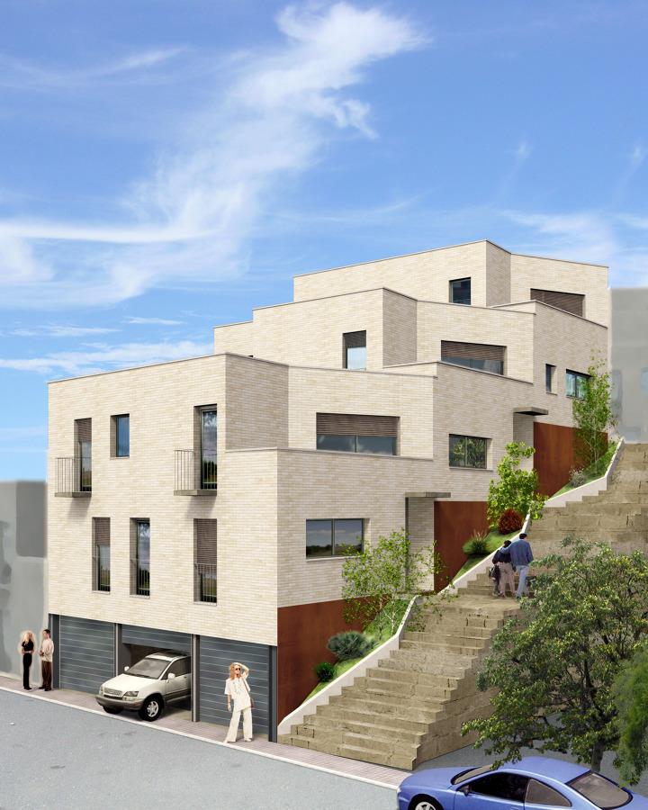 Foto dise o de fotomontage para proyecto de 3 viviendas - Proyectos de viviendas unifamiliares ...