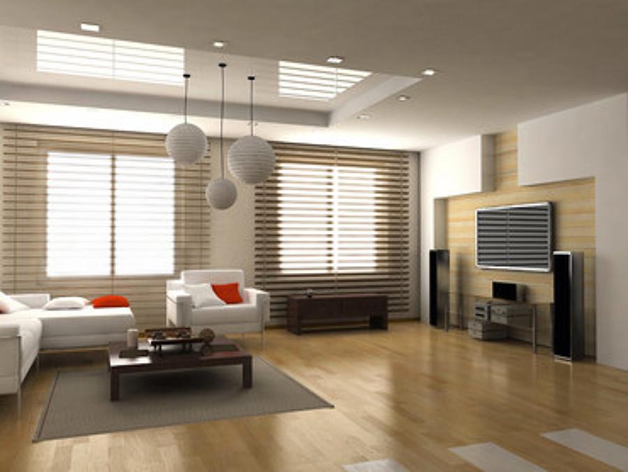 Foto dise o de paredes y techos de legatab decoraci n s l for Ambientes minimalistas interiores
