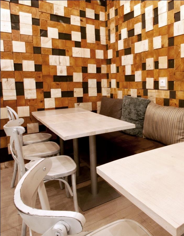 Diseño de restaurante italiano