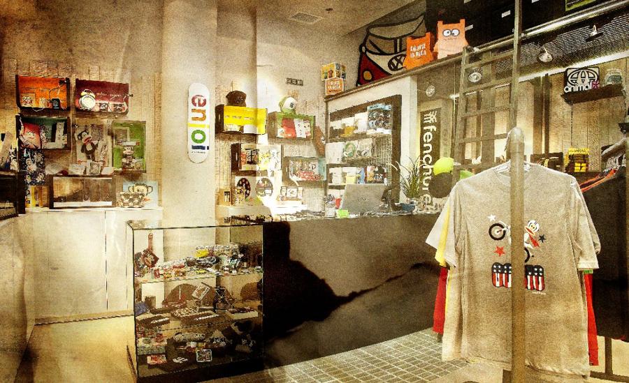 Foto dise o de tienda de ropa urbana de oss dise o for Diseno de interiores almacenes de ropa