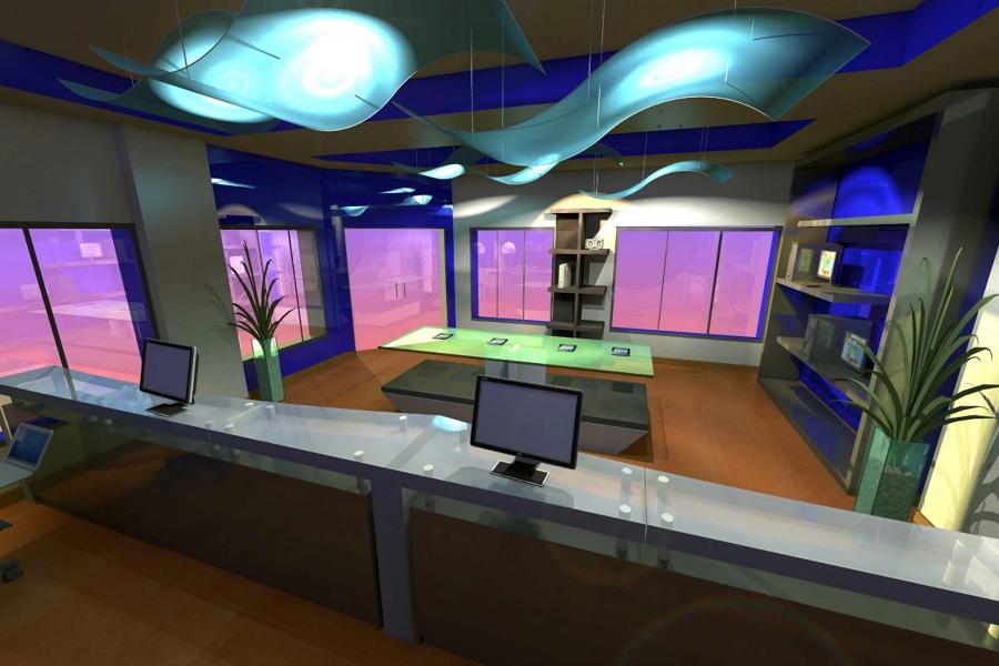 Diseño de tienda de telefonía 1