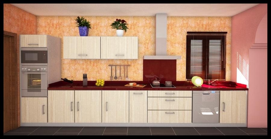 Foto dise o en 3d de cocinas de girubi tu oficina t cnica for Diseno cocinas 3d gratis espanol