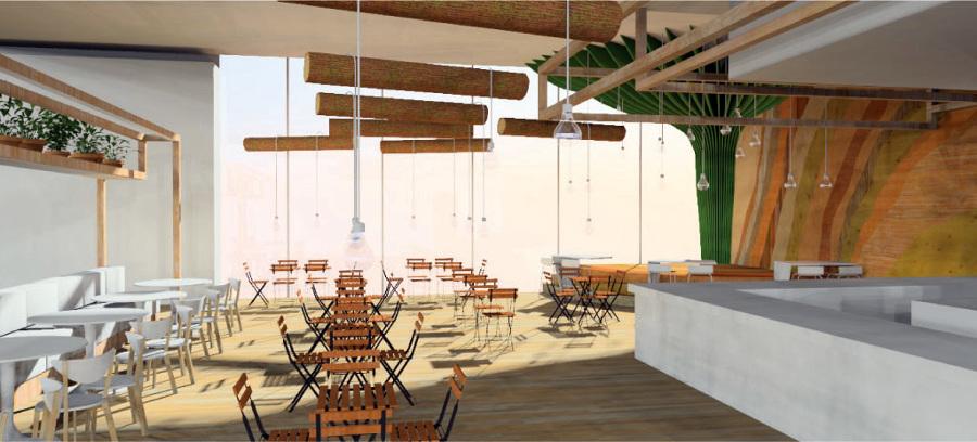 Foto dise o ikea glass house bar de peanut design studio for Ikea malaga telefono
