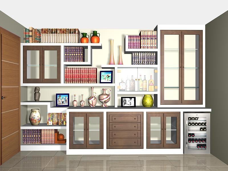 Foto dise o mueble pladur de decopladur 145607 habitissimo - Muebles de pladur para salon ...