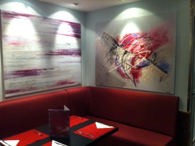 Foto dise o reforma interiorismo restaurante plaza de for Plaza los cubos madrid