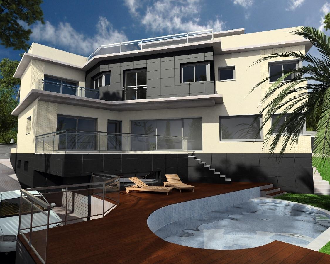 Diseño vivienda obra nueva.