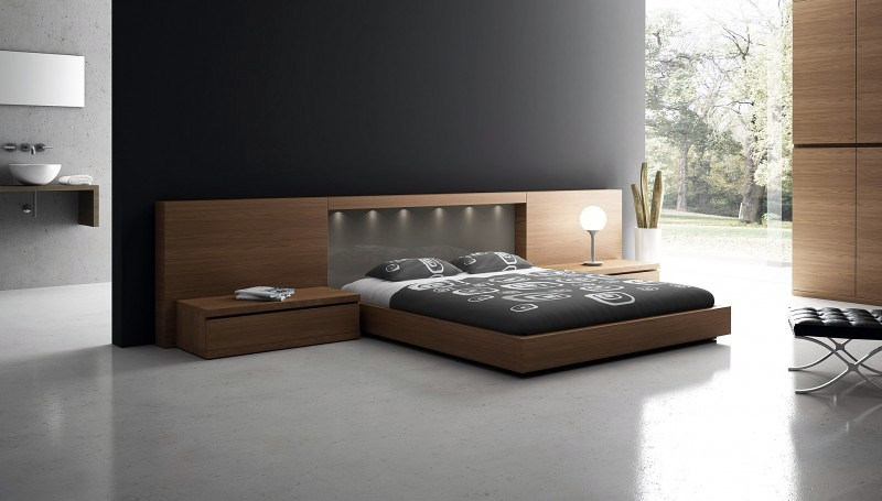 Dormitorio cabezal con luz