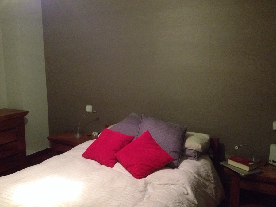 Dormitorio Empapelado cabecero
