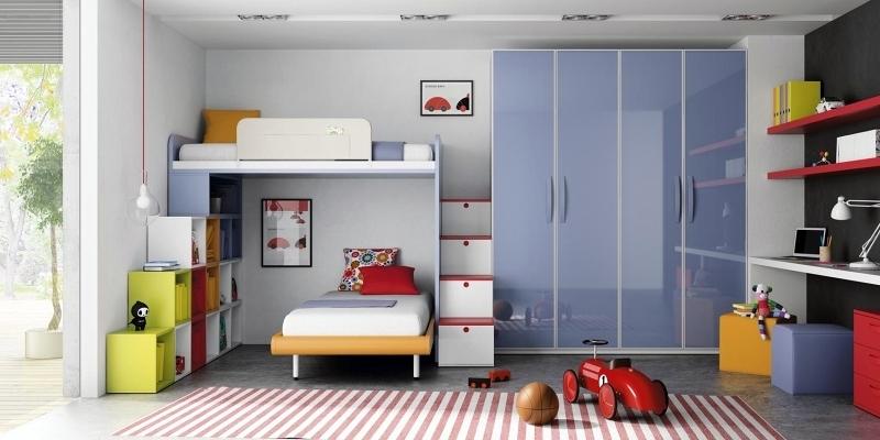 Dormitorio infantil de muebles JJP