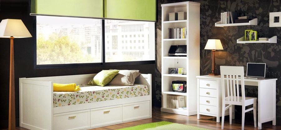 Foto dormitorio juvenil con escritorio de mueblesdehaya - Dormitorio juvenil con escritorio ...