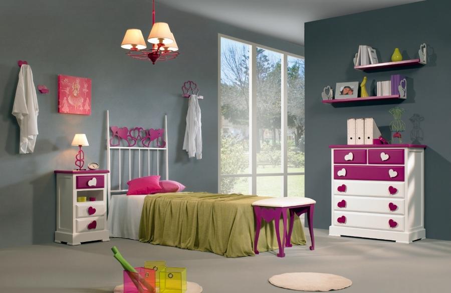 Foto dormitorio juvenil infantil cuore con cabecero de - Dormitorios infantiles granada ...