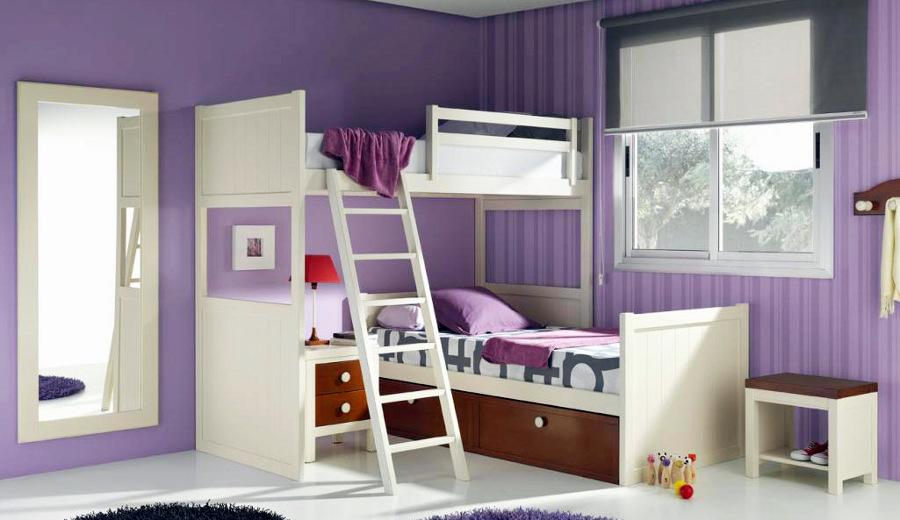 Foto dormitorio juvenil litera de la web de los muebles de haya 148967 - Dormitorios infantiles granada ...