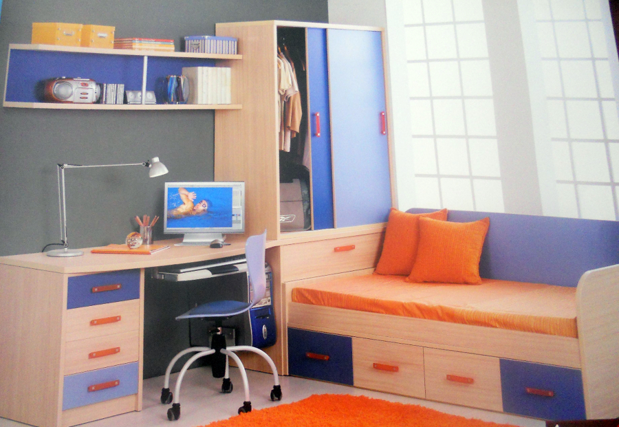 Foto dormitorio juvenil de muebles mari carmen 258638 - Dormitorio juvenil malaga ...