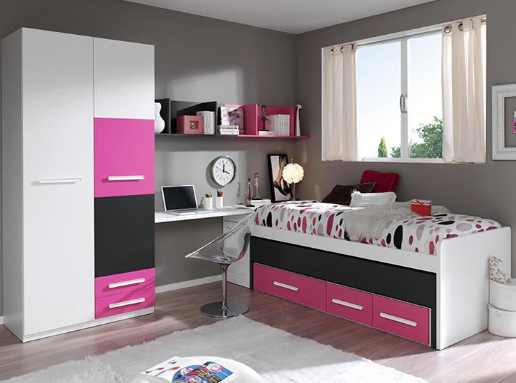 Foto dormitorio juvenil de muebles boom 326096 habitissimo for Habitaciones juveniles modernas