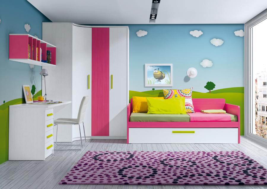 Foto dormitorio juvenil de muebles paco caballero 386556 for Muebles paco caballero