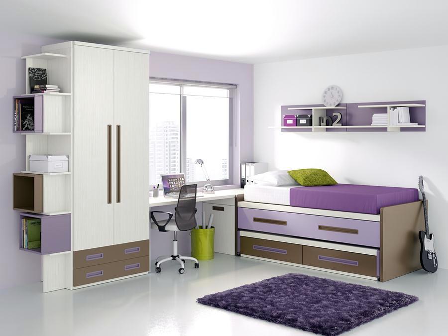 Foto dormitorio juvenil de muebles planelles 392364 - Dormitorio juvenil malaga ...