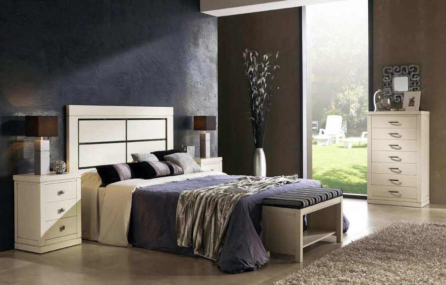 Foto dormitorio matrimonio con sinfonier de mueblesdehaya - Merkamueble albacete ...