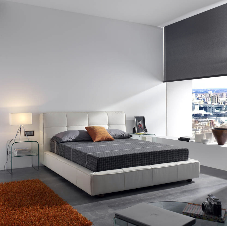 Foto dormitorio moderno tapizado de muebles paco for Dormitorios modernos precios