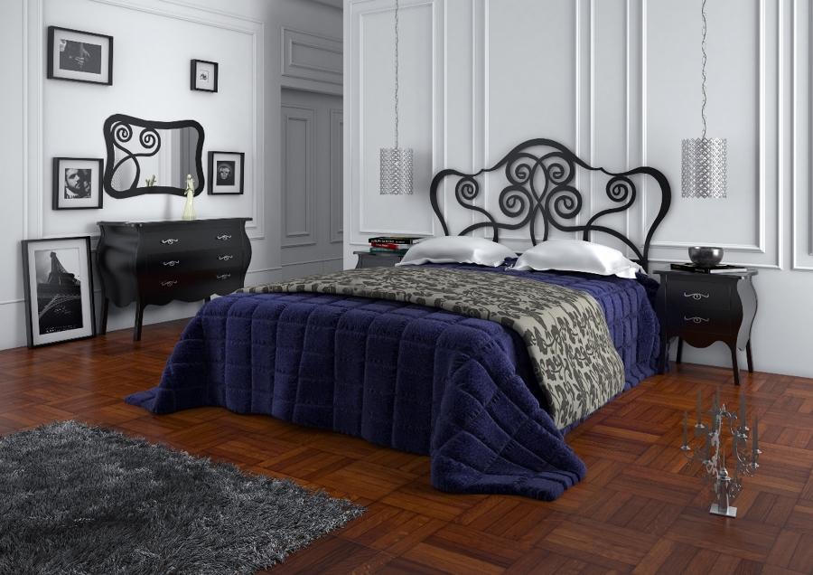 Foto: Dormitorio Napoles con Cabecero de Cama en Forja de Cosmobili ...