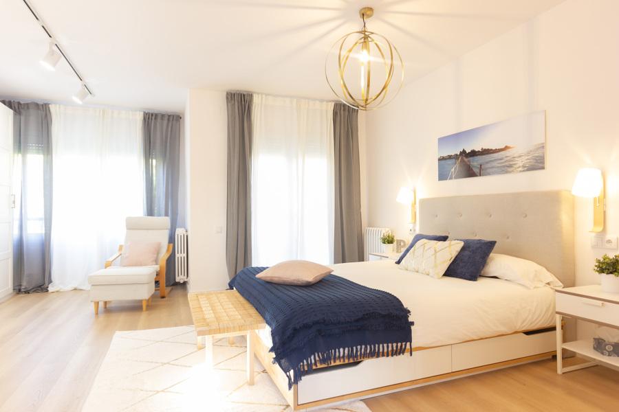 Dormitorio tras reforma