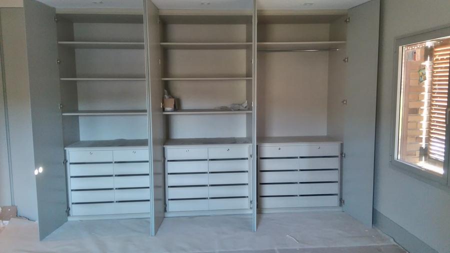 Distribución armario