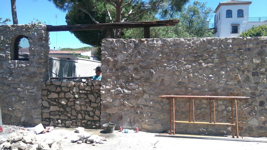 Foto valla de piedra de reformas antonio vela 1382352 habitissimo - Vallas de piedra ...