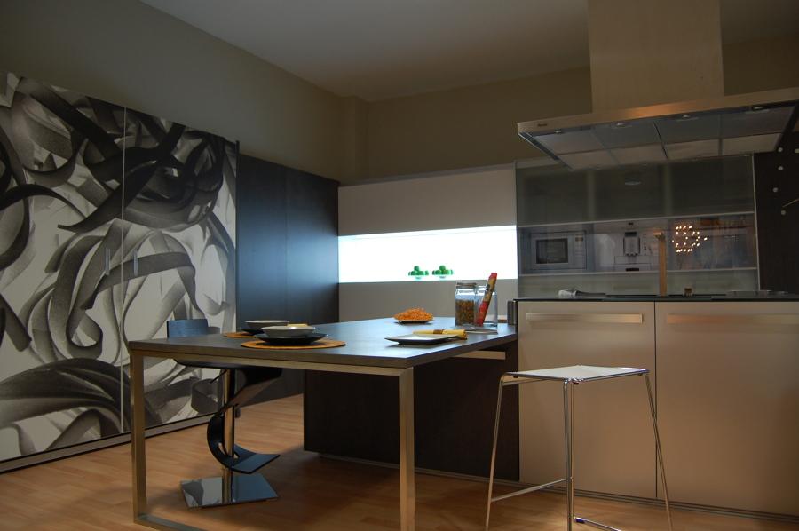 Nuestro Showroom, cocina de diseño