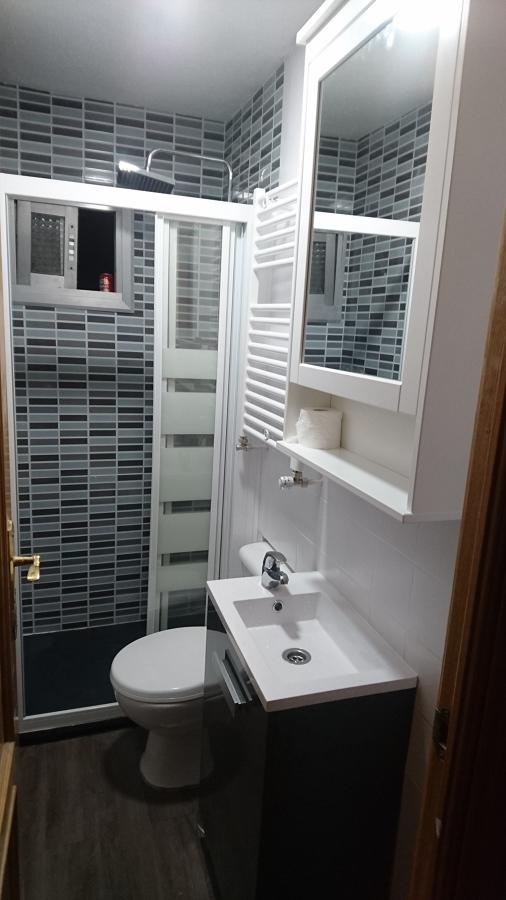 Reforma de baño en moratalaz