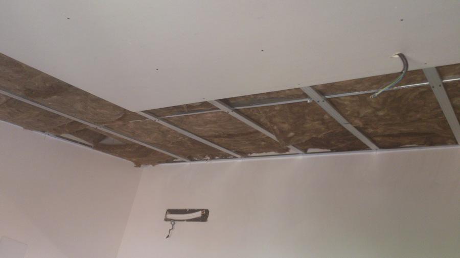 Foto techos de pladur con lana de roca de solucions - Fotos de techos de pladur ...