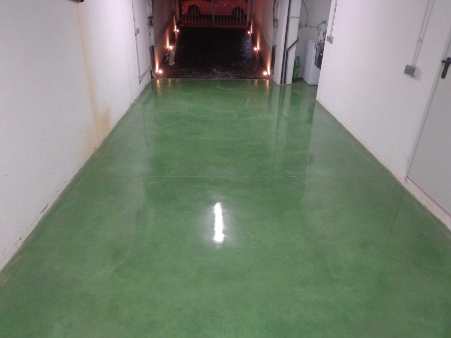 Foto pavimento de hormigon continuo pulido y abrillantado for Pavimento de hormigon tarragona