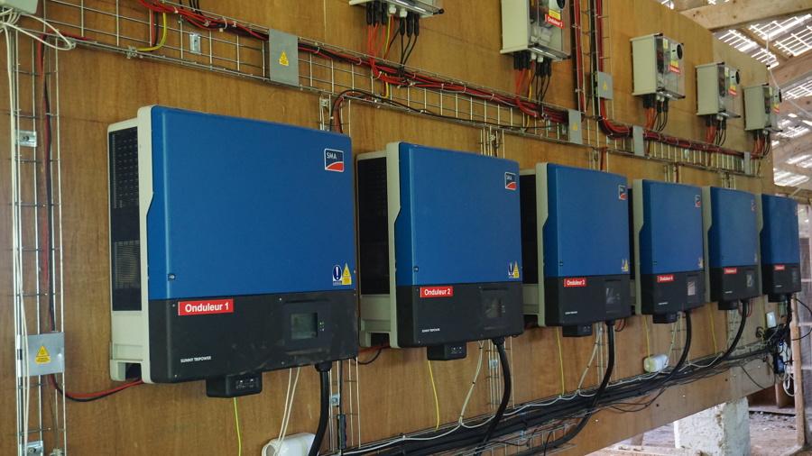 Instalacion con Inverores SMA