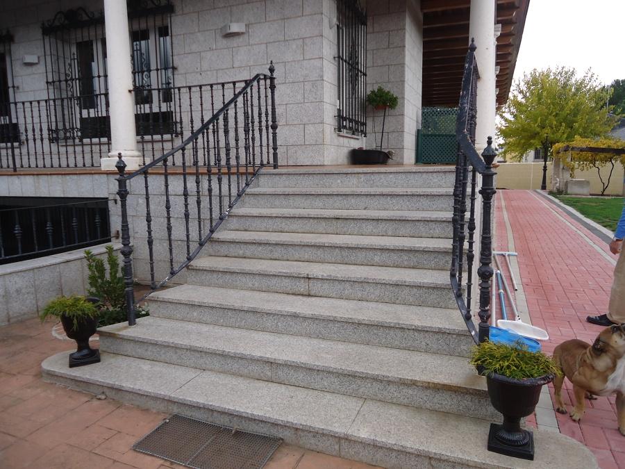 Detalle escaleras