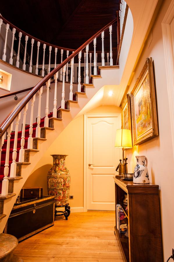 baranda para escaleras