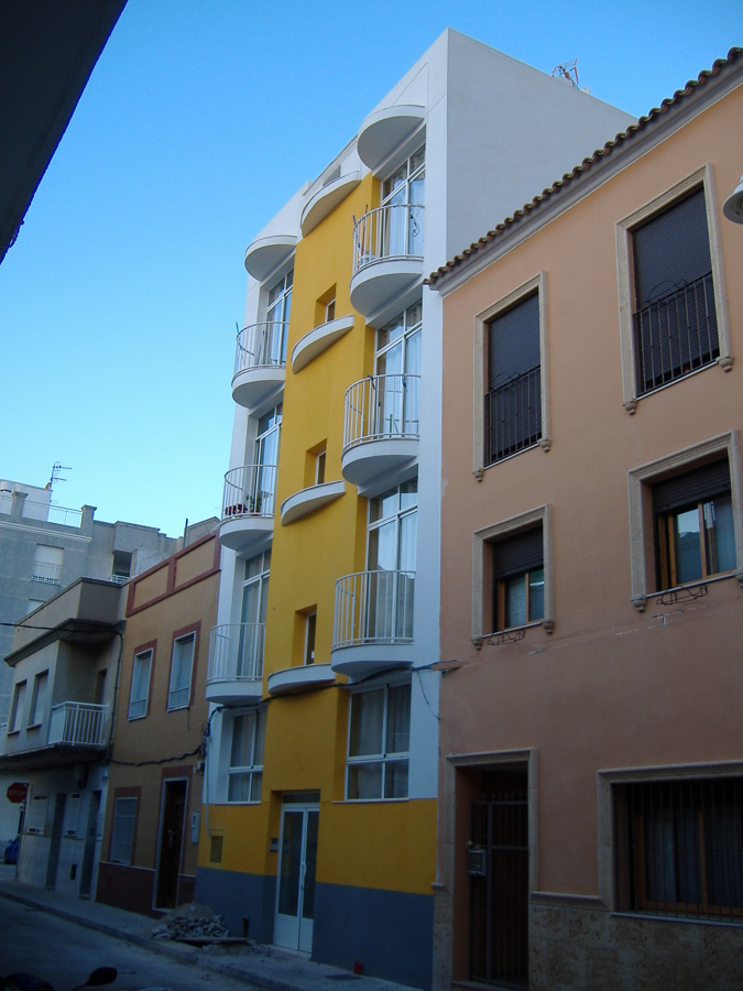 Edificio 8 viviendas Grau de Gandia