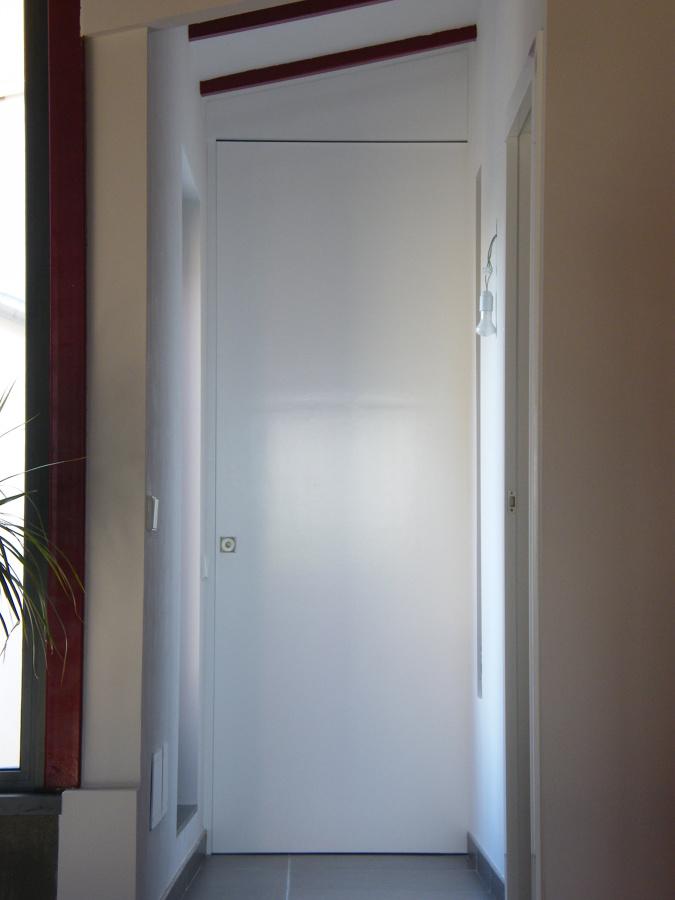 Puerta lacada blanco