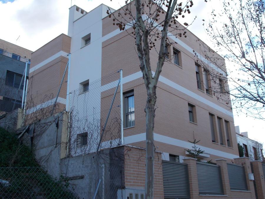 fachada principal chalet en aranjuez
