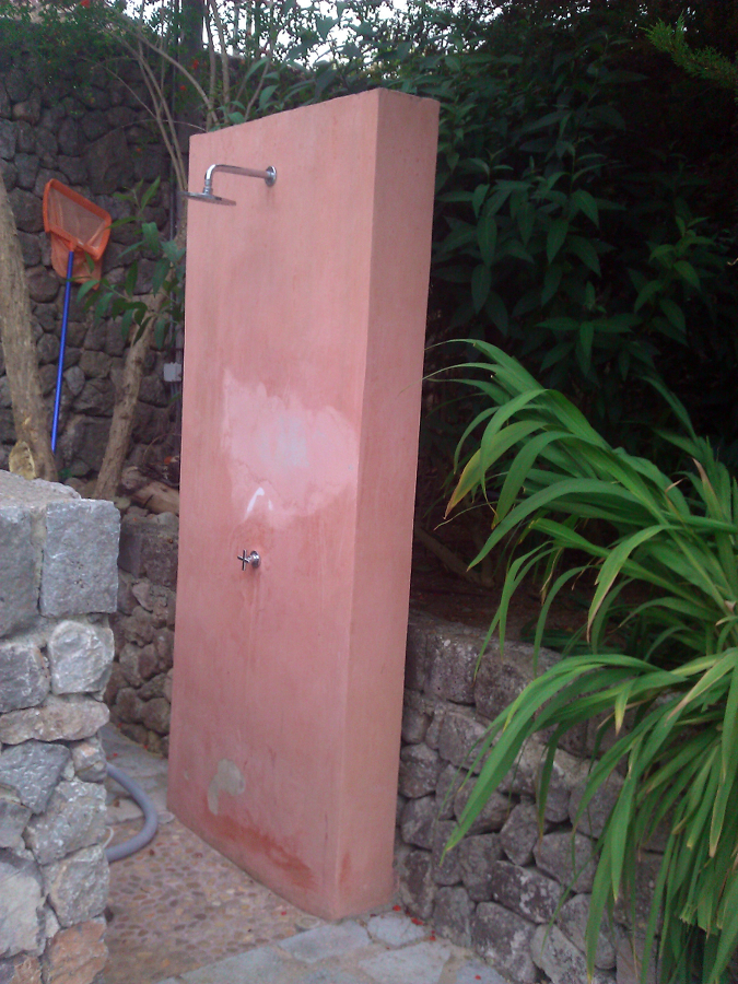 ducha antes de micro cemento