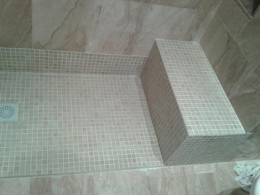Foto ducha con banco de refogarden 511835 habitissimo - Duchas con asiento ...