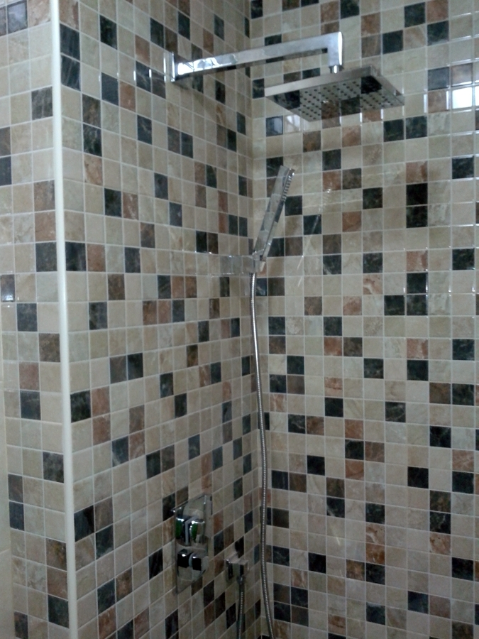 ducha empotrada