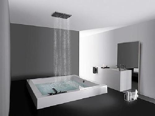 Foto duchas dise o de vidrios y aluminios crystalmar s l - Fotos de duchas de obra ...